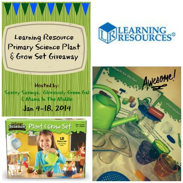 Learning Resource Giveaway Jan 4 to 18 Learning Resources Primary Science Plant & Grow Set Giveaway!